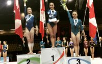 L'International Gymnix 2015: Victoria Woo remporte le Challenge Gymnix