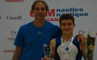 William Émard couronné champion canadien junior 2015