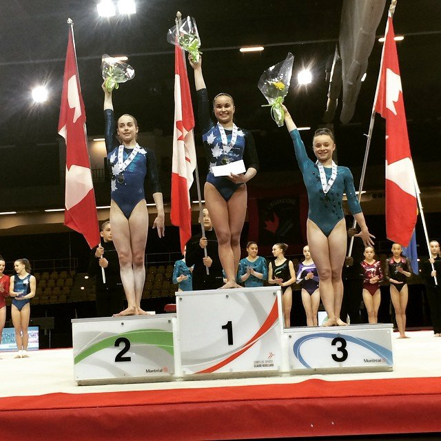 Symetry Via Victona Com Le Blog: L'International Gymnix 2015: Victoria Woo Remporte Le
